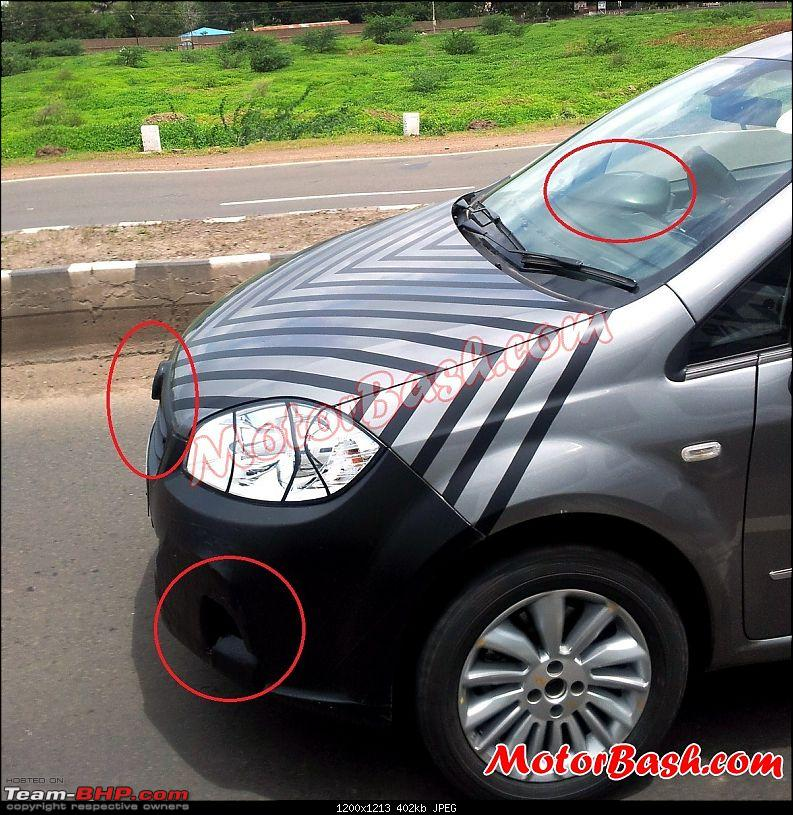 Fiat's India strategy revealed-new2014fiatlineafaceliftspypic1.jpg