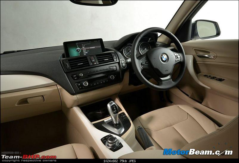 BMW to launch the 1 Series later in 2013*UPDATE: Now launched*-bmw1seriesrhdinterior.jpg