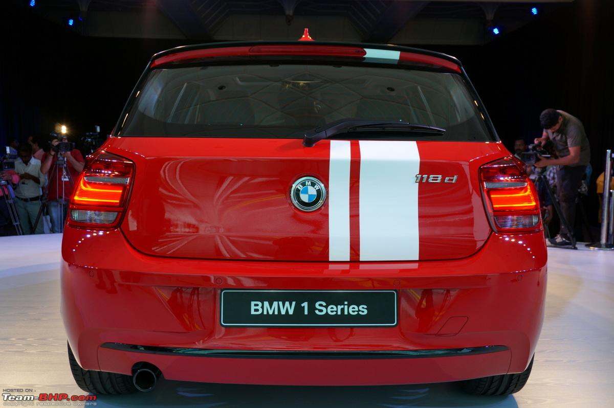 bmw 1 series pictures launch report team bhp. Black Bedroom Furniture Sets. Home Design Ideas