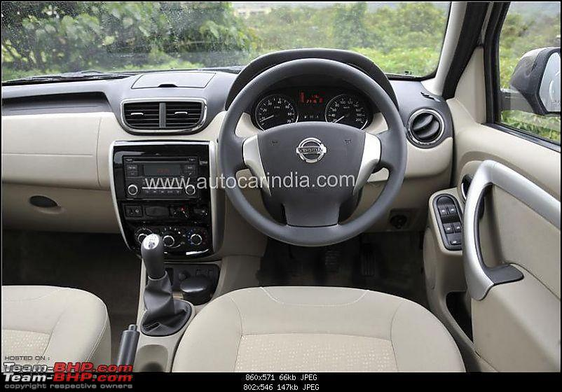 Nissan Terrano Unveiled : To be launched in early October-interior-terrano-01.jpg