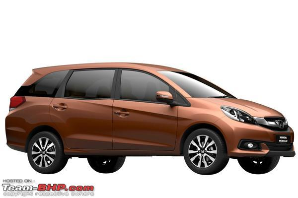 Honda Mobilio Brio Based Mpv Coming Soon Edit Pre Launch Ad On