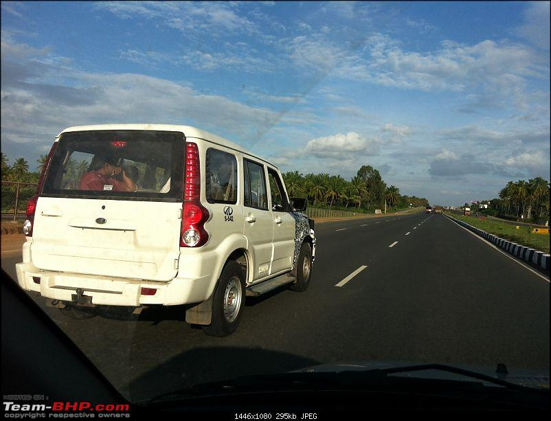 2014 Mahindra Scorpio Facelift (W105). EDIT: Now launched at Rs. 7.98 lakhs-img_0166.jpg