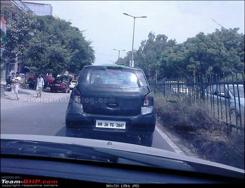 Maruti's plans - Upgraded Swift, SX4 Crossover and an 800cc Diesel car?-nextgenerationmarutiastarspied1.jpg