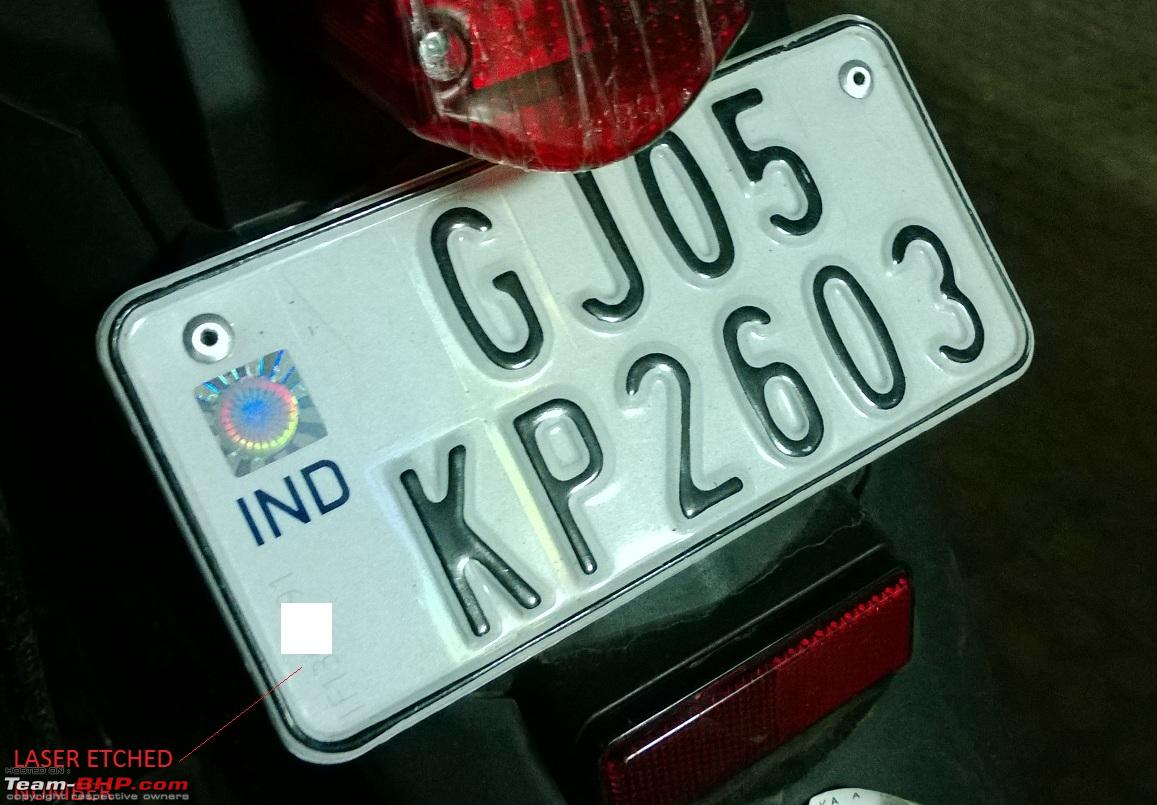 High security registration plates (HSRP) in India - Page 35 - Team-BHP