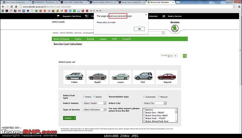 Skoda: Steps towards Transparency - Online Service Cost Calculator & Owners Manual-1.jpg