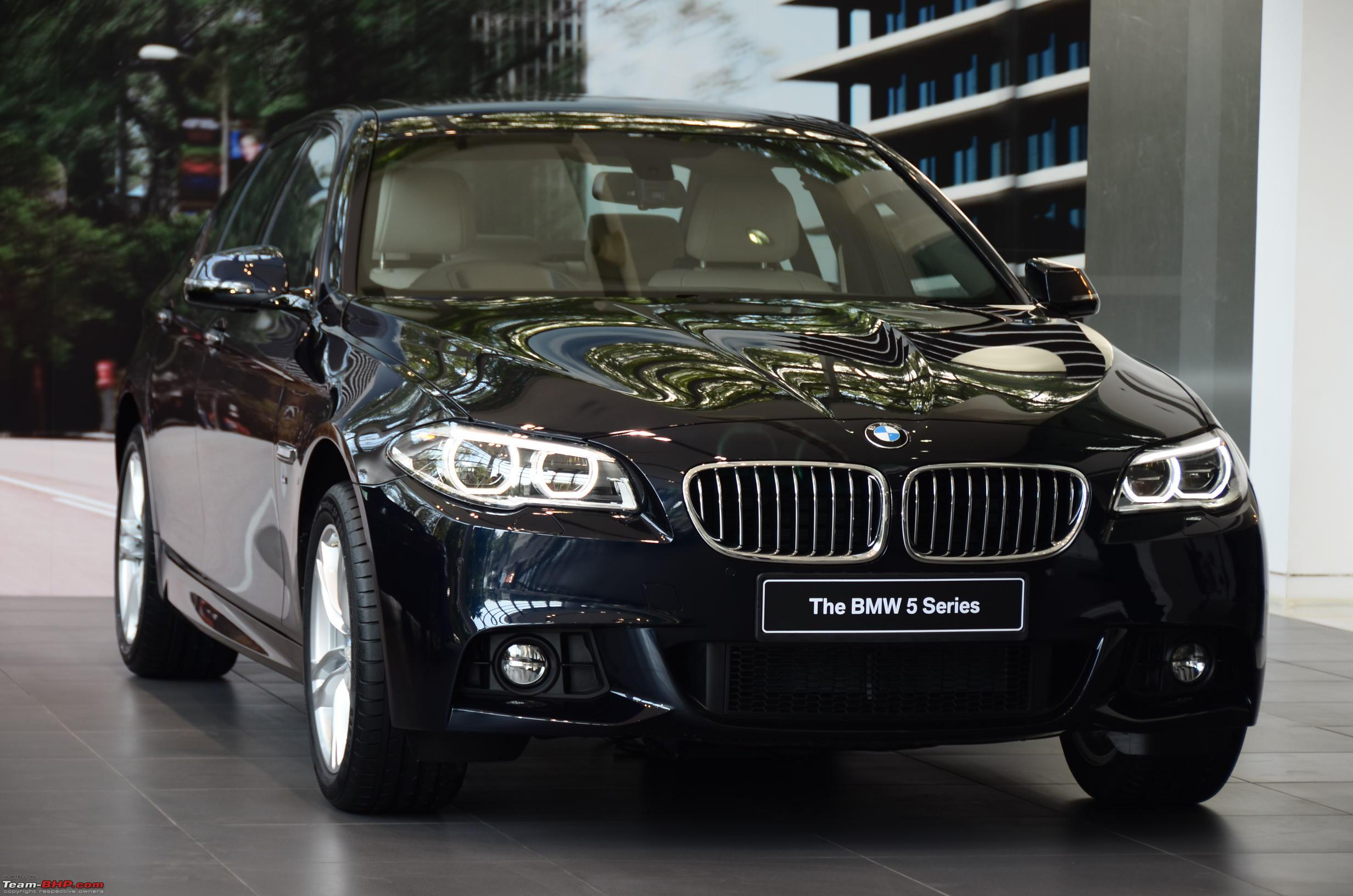 2013 Bmw 5 Series Facelift Launched In India Team Bhp