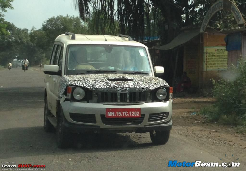 2014 Mahindra Scorpio Facelift W105 Edit Now Launched