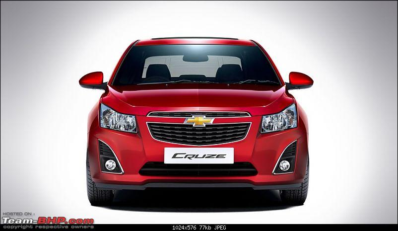 2013 Chevy Cruze Facelift - Launched in India @ 13.75 Lakhs-2013chevroletcruzefaceliftindiafront.jpg