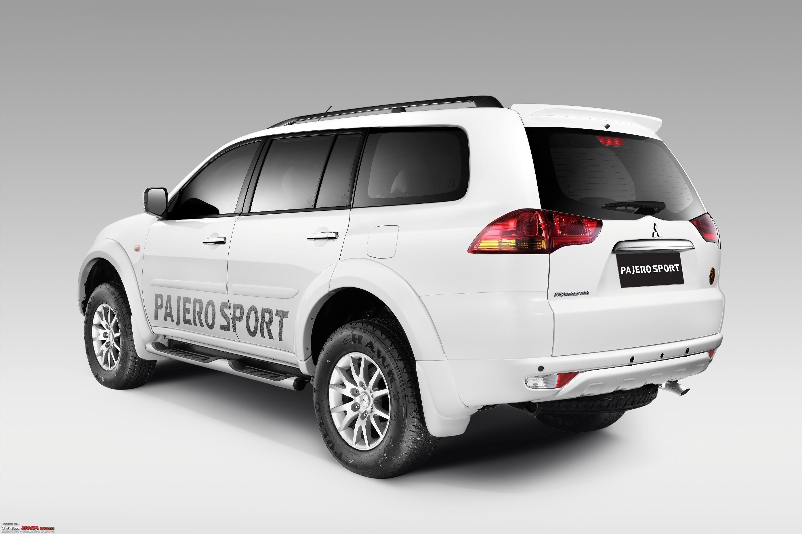 Mitsubishi pajero sport anniversary edition suv 2013 mitsubishi pajero sport