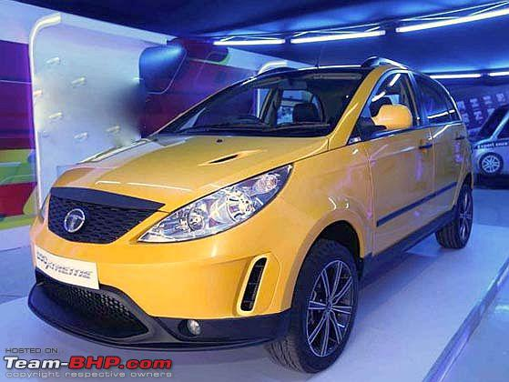 Scoop: Tata Falcon-based crossover in the works - Team-BHP
