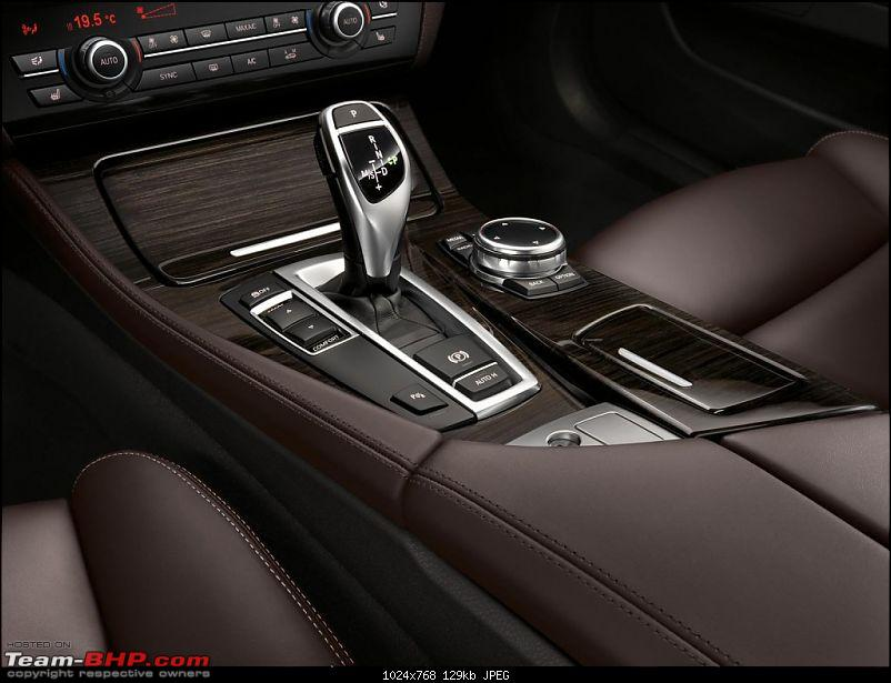 The next-gen BMW 5-Series (G30). EDIT: Launched at Rs. 49.90 lakh-2014bmw5seriesgearshifter1024x768.jpg