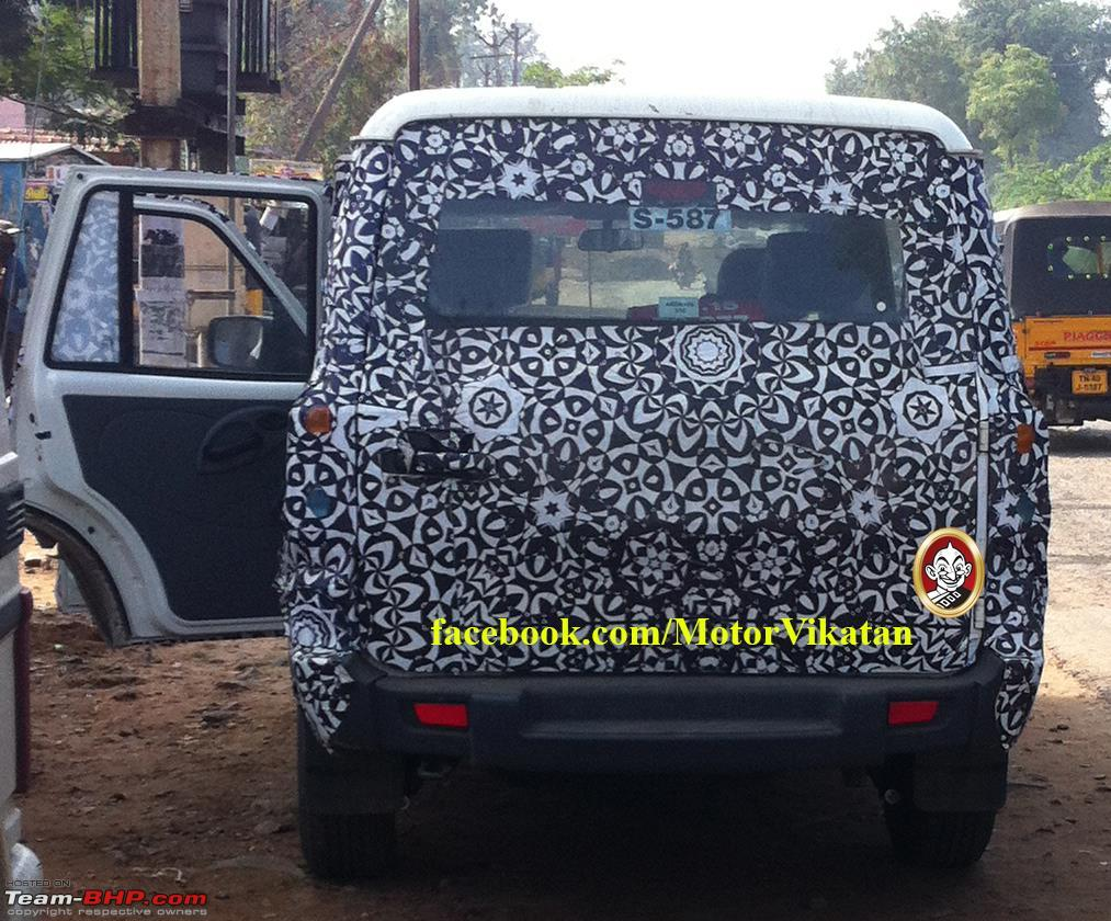 2014 mahindra scorpio facelift w105 edit now launched at rs 7 98
