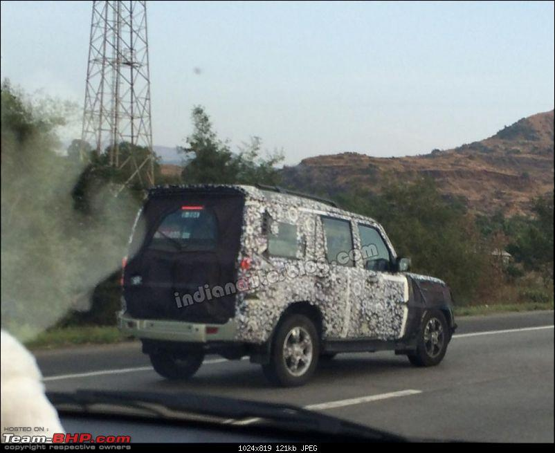 2014 Mahindra Scorpio Facelift (W105). EDIT: Now launched at Rs. 7.98 lakhs-2014mahindrascorpiofaceliftspiediabside41024x819.jpg