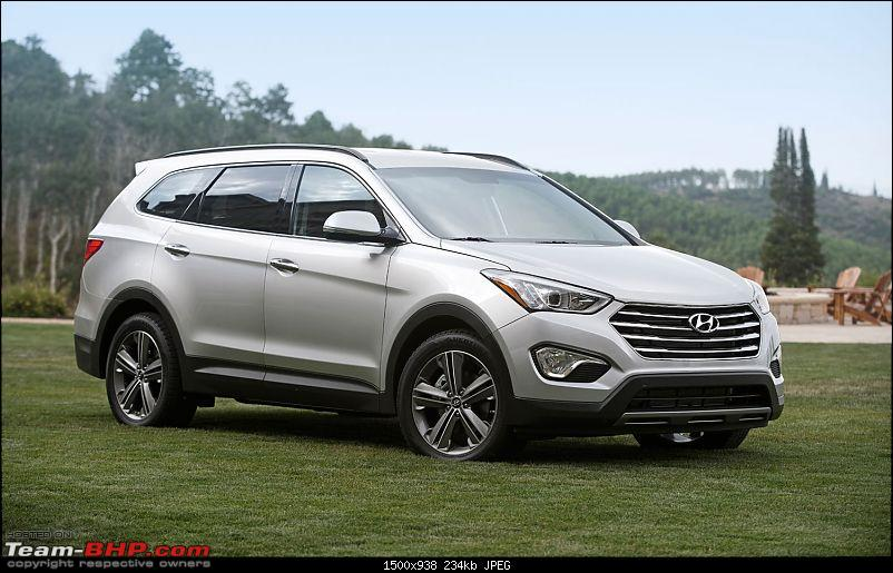 Scoop! 3rd-Gen Hyundai Santa Fe spotted testing in India. EDIT: Now launched.-2014hyundaisantafelwb.jpg