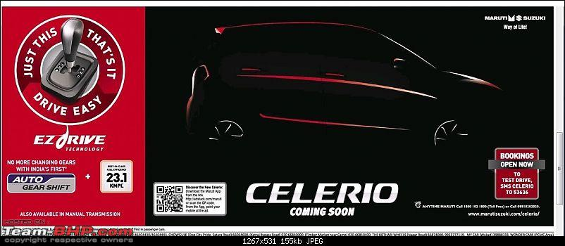 """Maruti to offer Automated Manual (""""EZdrive"""") in small cars*EDIT: Celerio AMT launched-celerio.jpg"""