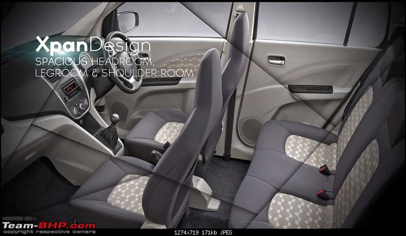 """Maruti to offer Automated Manual (""""EZdrive"""") in small cars*EDIT: Celerio AMT launched-maruticeleriocabincapture.jpg"""
