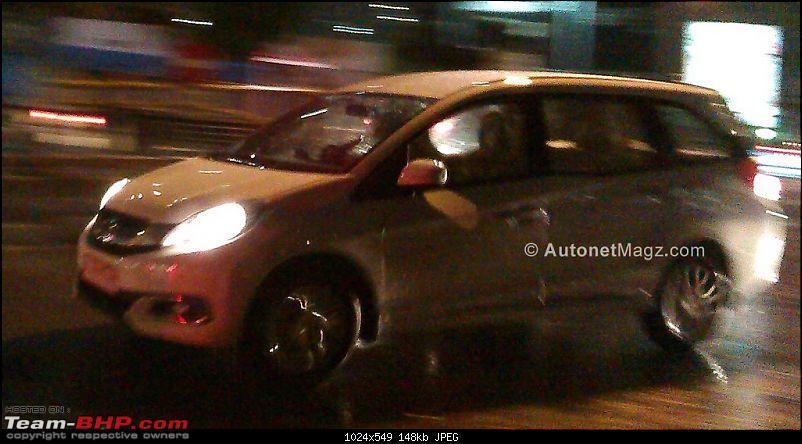 Honda Mobilio (Brio-based MPV) coming soon? EDIT: pre-launch ad on p29-mobilio-indonesia-spied2.jpg