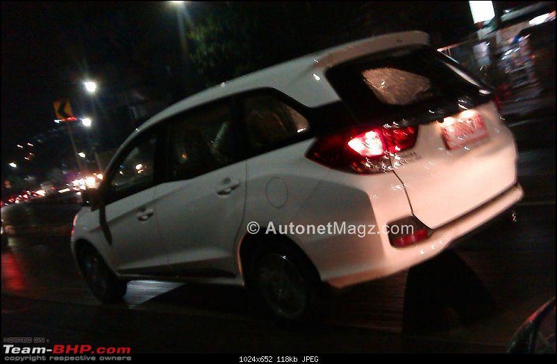 Honda Mobilio (Brio-based MPV) coming soon? EDIT: pre-launch ad on p29-mobilio-indonesia-spied8.jpg