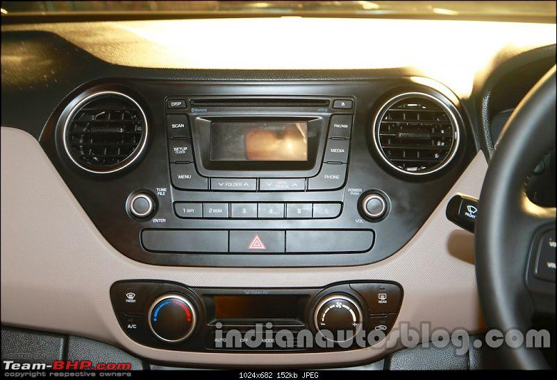 Hyundai Xcent (Grand i10 Sedan) caught testing : Now launched @ Rs. 4.66 lakh-hyundaixcentaudiosystemliveimage1024x682.jpg