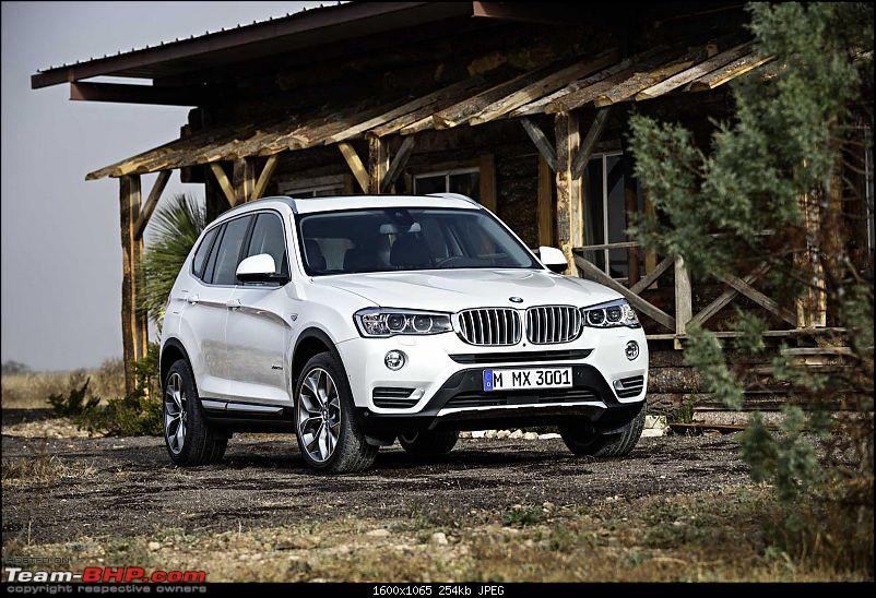 New BMW X3 Officially out on Bmw.in. EDIT : Now launched @ Pg. 3-2015bmwx3faceliftpressshotfront.jpg