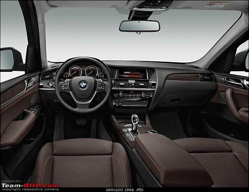 New BMW X3 Officially out on Bmw.in. EDIT : Now launched @ Pg. 3-2015bmwx3faceliftpressshotinterior.jpg