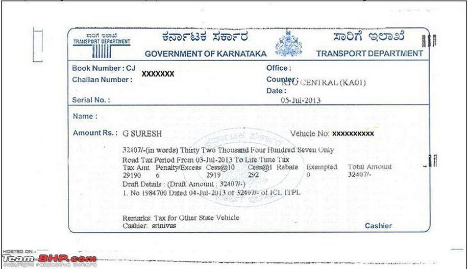 road tax online