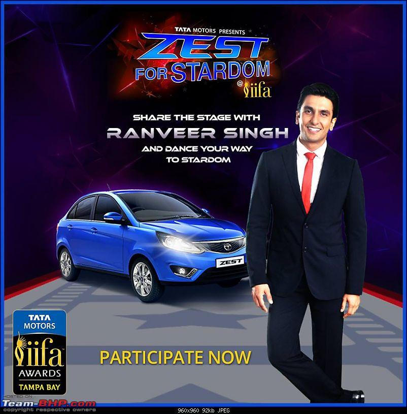 On the Tata Bolt Hatchback-zest.jpg