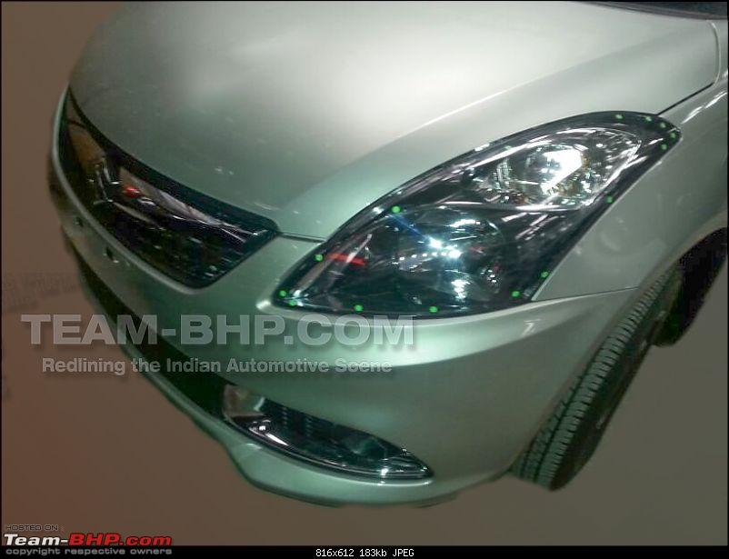 Team-BHP SCOOP: Maruti Dzire Facelift caught uncamouflaged!* EDIT: Now launched!*-img20140507wa0003.jpg