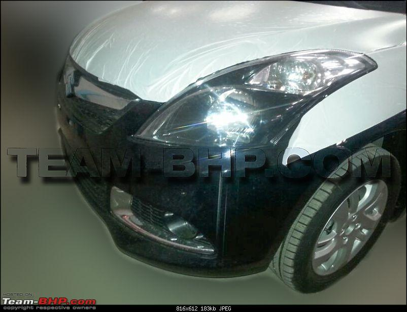 Team-BHP SCOOP: Maruti Dzire Facelift caught uncamouflaged!* EDIT: Now launched!*-img20140507wa0004.jpg