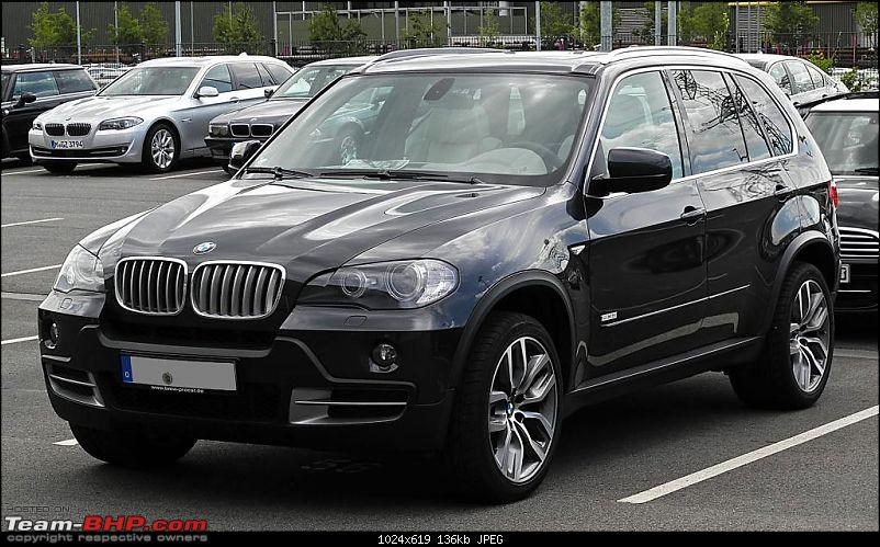 PM's Official Ride: Bullet-proof Scorpio or an import? EDIT : BMW fleet retained-bmw_x5_edition_10_jahre_x5_e70__frontansicht_17._juli_2011_dsseldorf.jpg