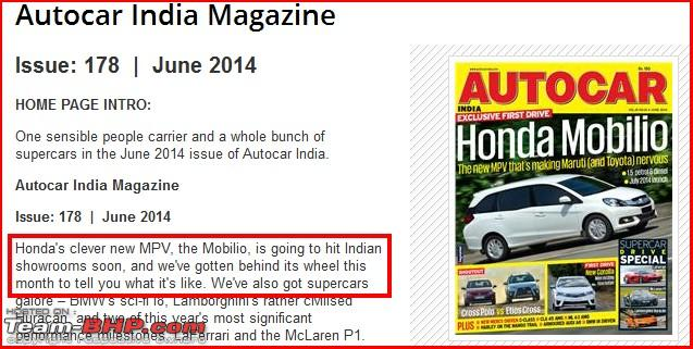 Name:  Autocar India report on Mobilio.jpg