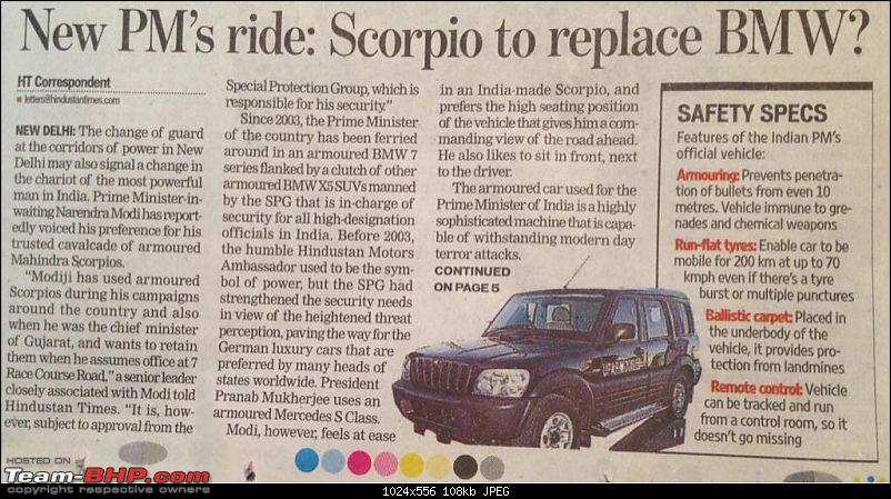 PM's Official Ride: Bullet-proof Scorpio or an import? EDIT : BMW fleet retained-imageuploadedbyteambhp1400992614.537558.jpg