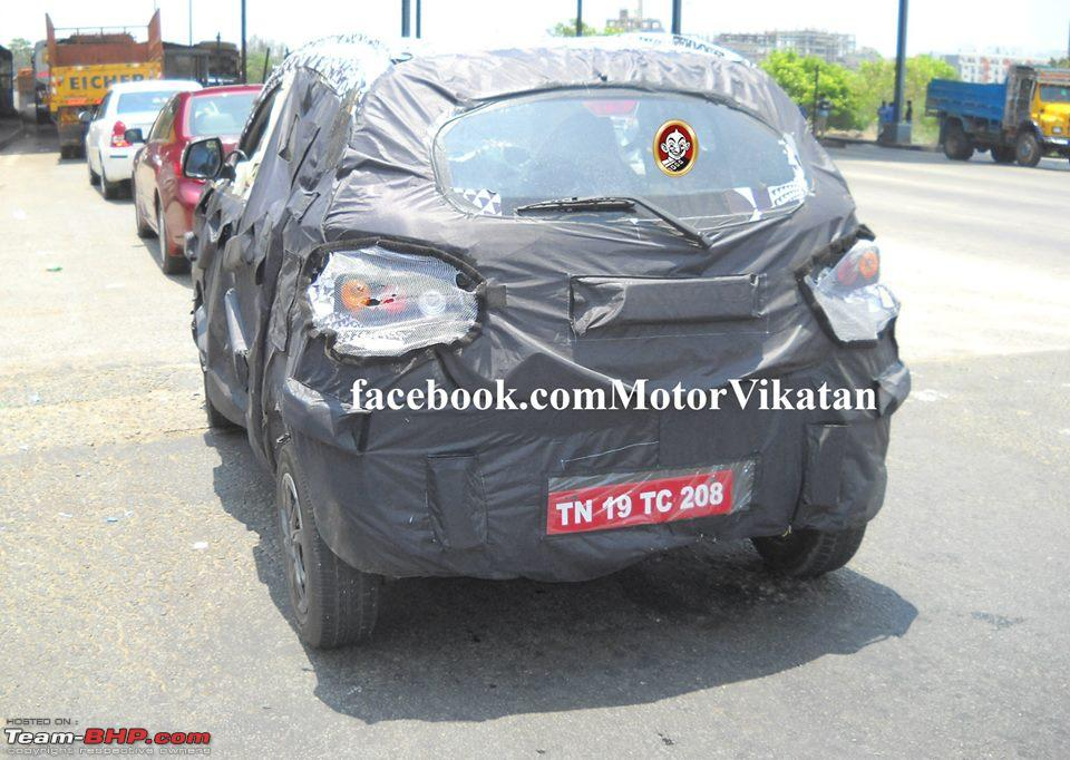 Scoop Pic Mahindras S101 Mini Suv Spotted Page 11 Team Bhp