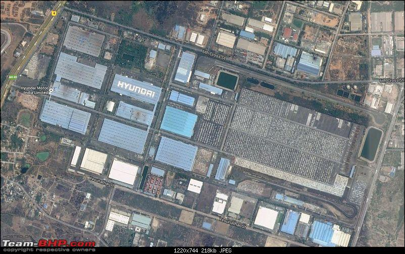 PICS: Hyundai's Chennai Factory. Detailed report on the making of Xcent & Grand i10-aerial-view.jpg