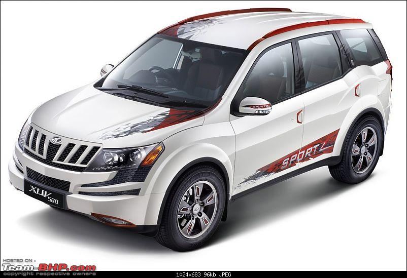 Special Edition Mahindra XUV5OO. EDIT: Now launched at Rs. 13.68 lakh-xuv500-sportz.jpg