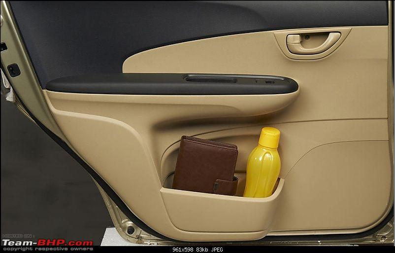 Honda Mobilio (Brio-based MPV) coming soon? EDIT: pre-launch ad on p29-bottle-holder-door-pocket.jpg