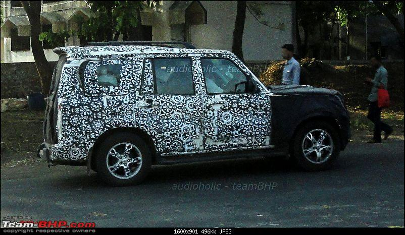 2014 Mahindra Scorpio Facelift (W105). EDIT: Now launched at Rs. 7.98 lakhs-image.jpg