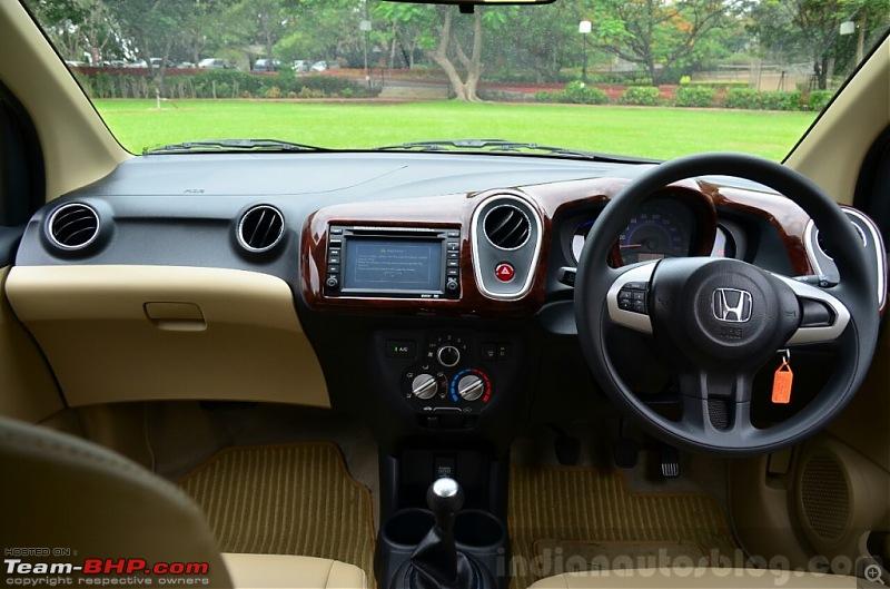 Honda Mobilio (Brio-based MPV) coming soon? EDIT: pre-launch ad on p29-mobilio-interior.jpg