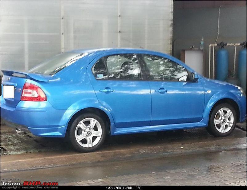 """Ford brings """"Quick Lane"""" Service to India @ Metro Ford, Bangalore-after-wash.jpg"""