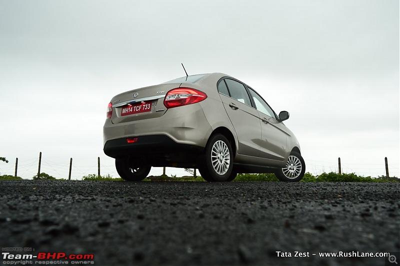 On the Tata Bolt Hatchback-tatazest020rear.jpg