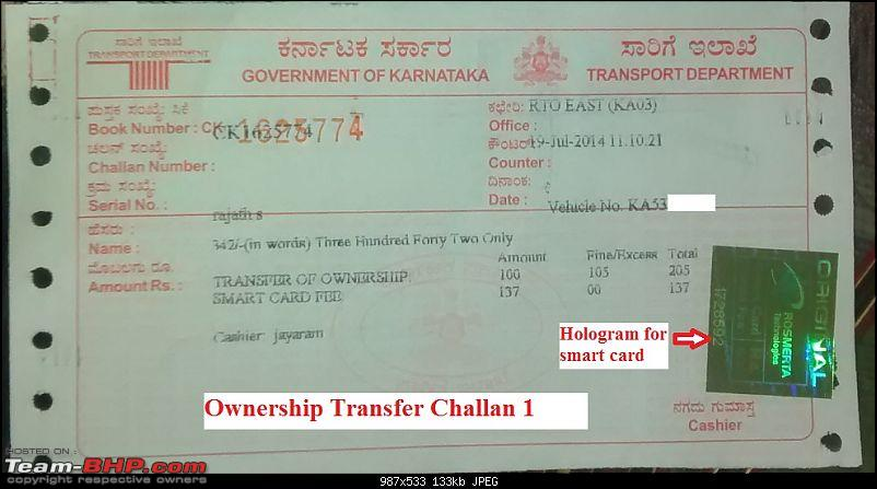 Guidelines: Car Ownership Transfer in Bangalore-challan_1.jpg