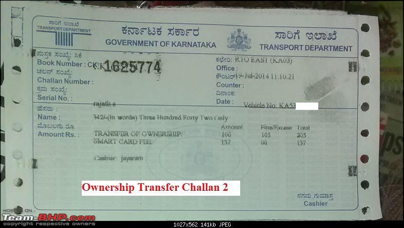 Guidelines: Car Ownership Transfer in Bangalore-challan_2.jpg