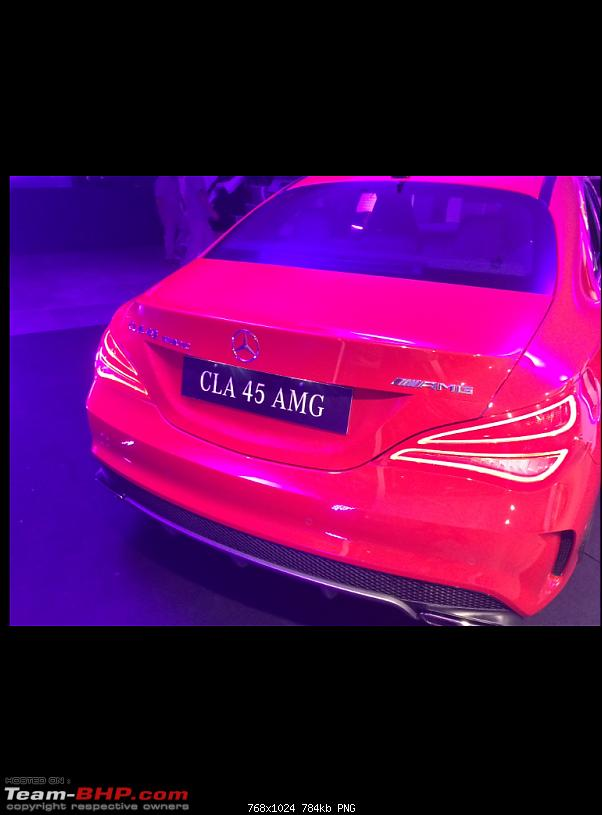 The Mercedes CLA 45 AMG. EDIT: Launched @ 68 lakhs!-img_3809.png