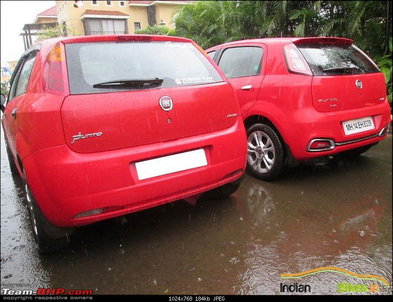 What happened to good looking cars?!-2014fiatpuntoevoredoldvsnewrear2.jpg