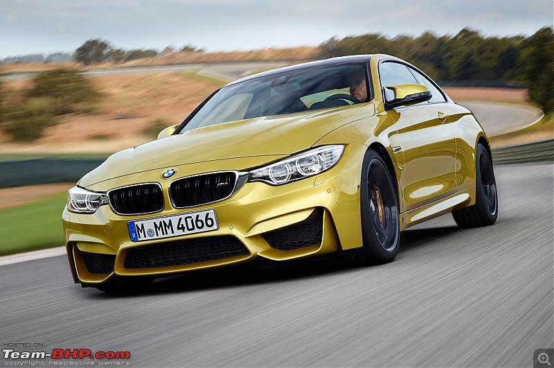 What happened to good looking cars?!-2015bmwm4inmotion.jpg