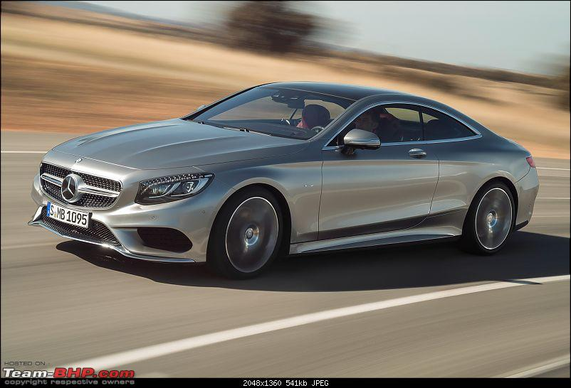 What happened to good looking cars?!-2015mercedesbenzsclasscoupefrontsidemotionview.jpg