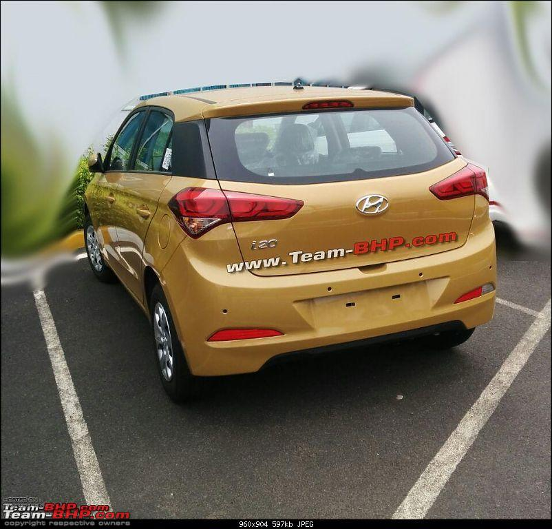 SCOOP Pics! 2014 Hyundai i20 spotted testing in India *UPDATE* Now launched @ 4.89L-2014-i20-rear-full.jpg