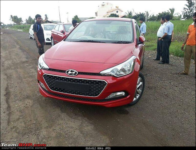 SCOOP Pics! 2014 Hyundai i20 spotted testing in India *UPDATE* Now launched @ 4.89L-10447395_10203361697417371_8973780518209966206_n.jpg