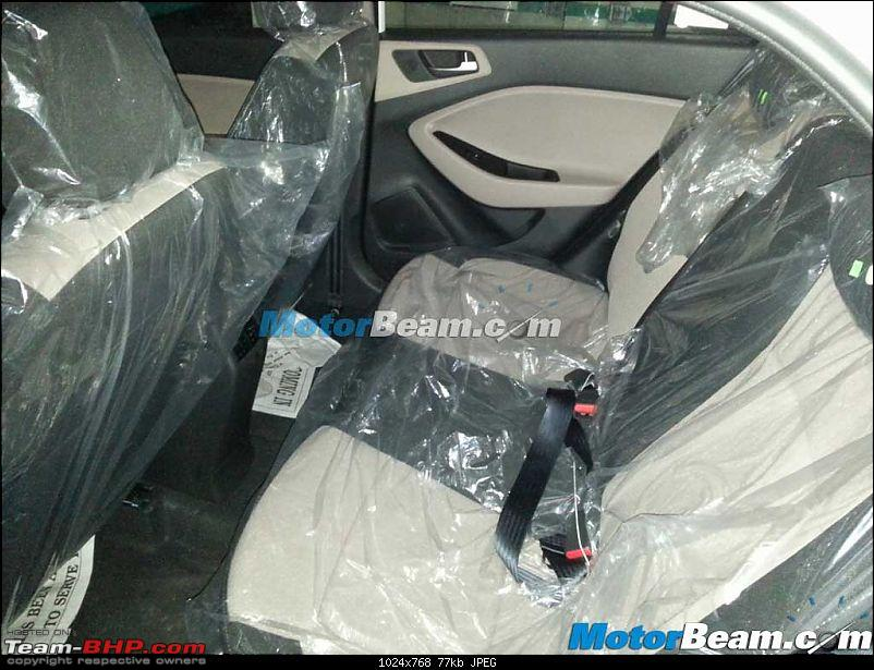 SCOOP Pics! 2014 Hyundai i20 spotted testing in India *UPDATE* Now launched @ 4.89L-2015hyundaielitei20spyshotrearseat.jpg