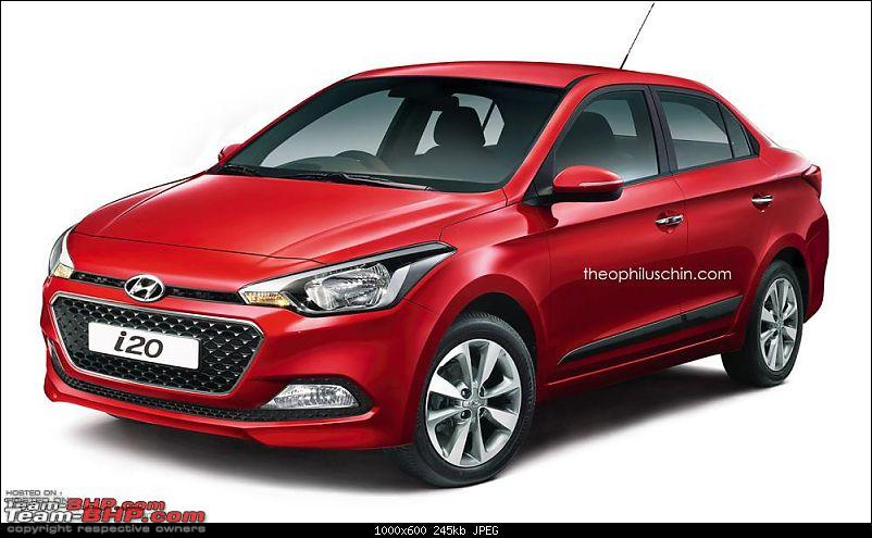 Rendering: Elite i20 Sedan (no plans for production)-hyundaielitei20sedanrenderingfrontthreequarter.jpg